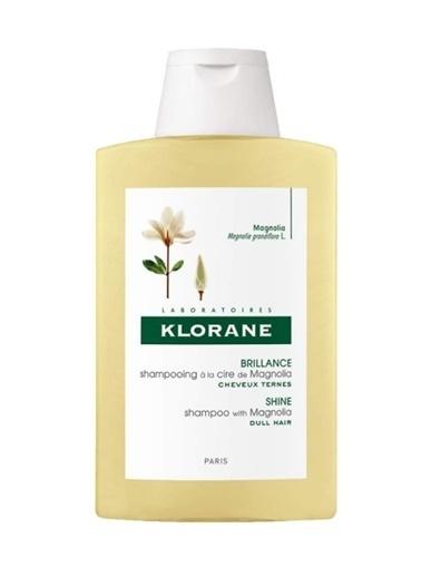 Klorane KLORANE Shampooing Magnolia 200 ml - Manolya ekstreli şampuan (Parlak saçlar) Renksiz